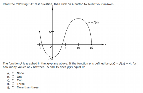 SAT Question of the Day Question Of The Day For Students